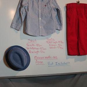 Carter's Matching Sets - Carter's Matching set !!!! w/ Hat !!!!